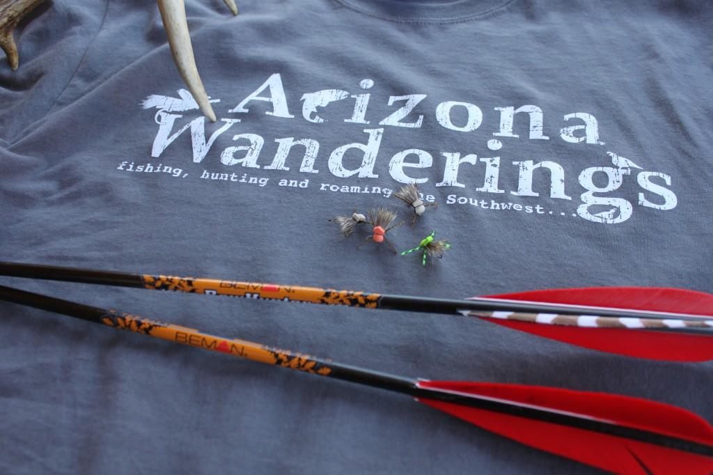 The Original Arizona Wanderings T-shirt