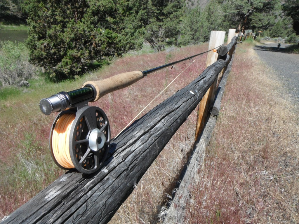 Fly rod and fence