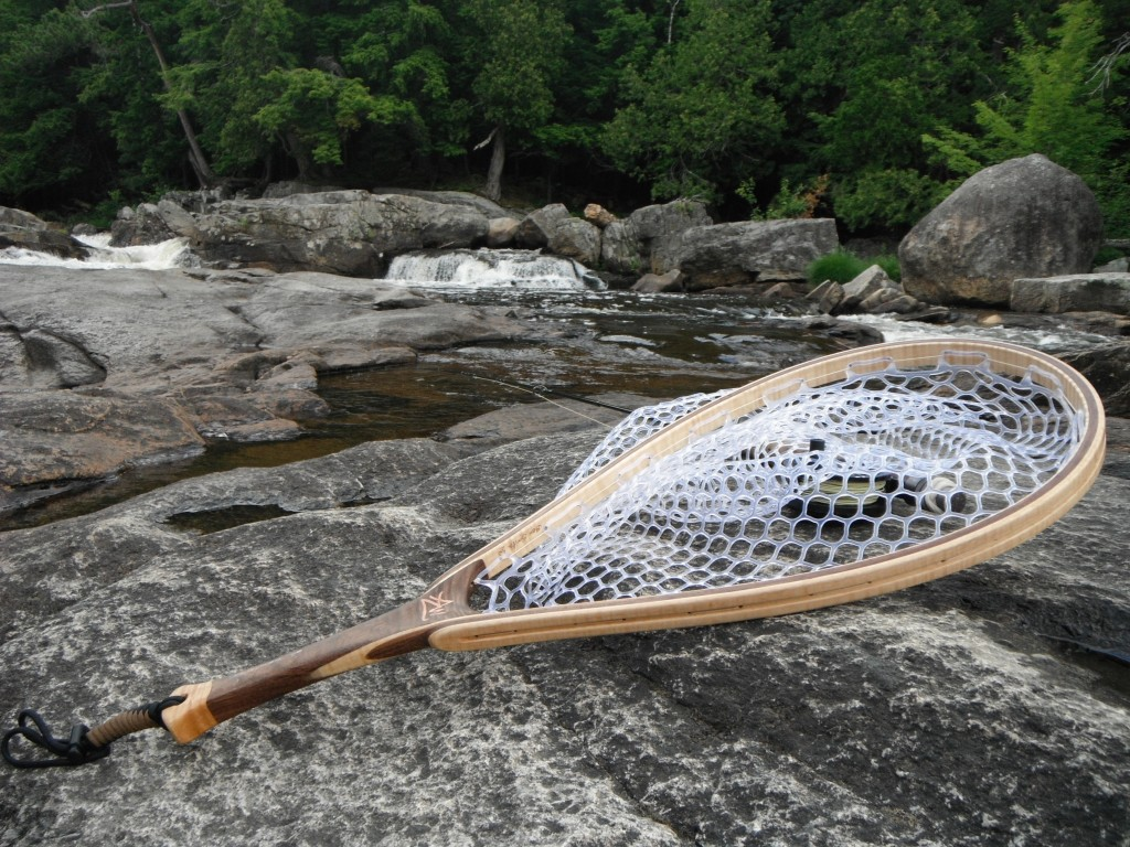 Fly fishing addicts user forum view topic my latest for Wooden fishing net