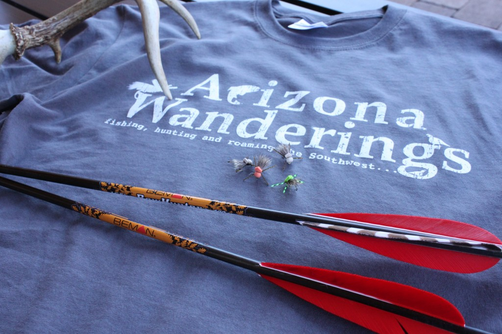 Arizona Wanderings T-shirts