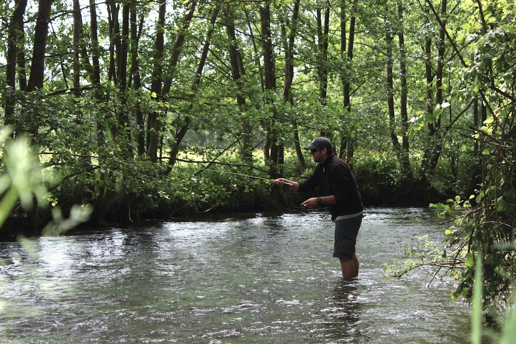 Black Bear Fly Fishing 2/3 wt Fiberglass Pack Travel Fly Rod