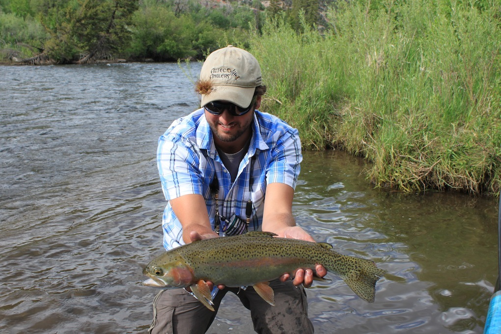 Fly fishing colorado the eagle river arizona for Colorado river fly fishing