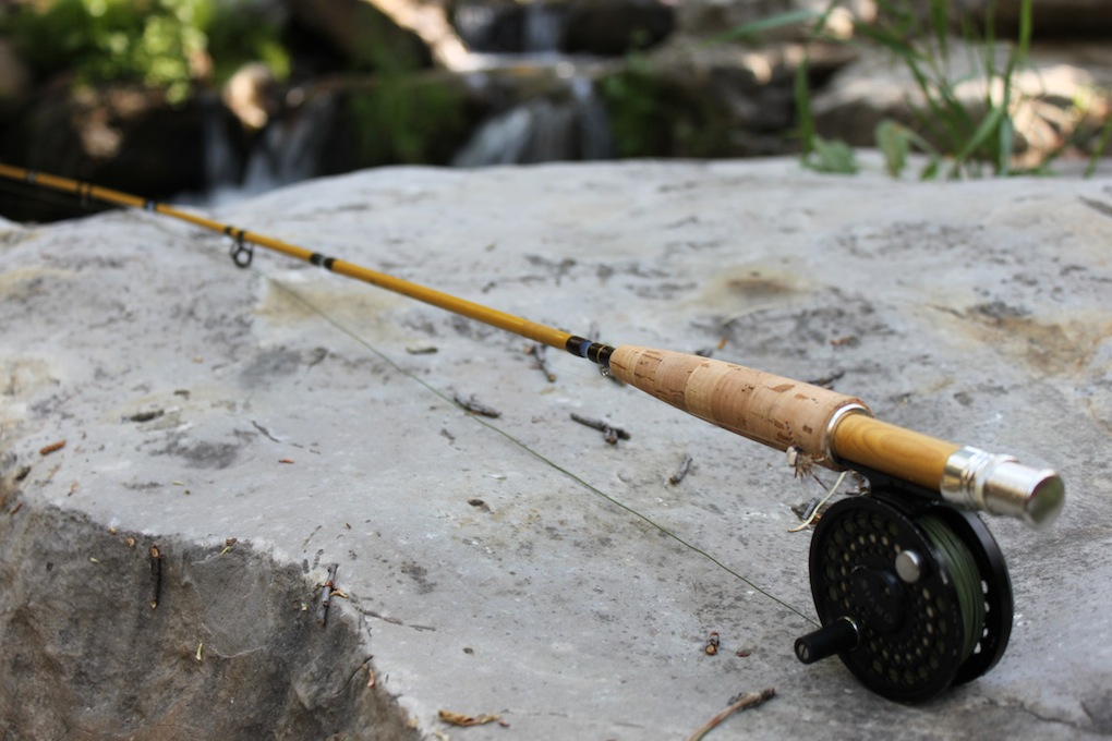 Rambling review black bear fly fishing 2 3 wt fiberglass for Fly fishing with spinning rod