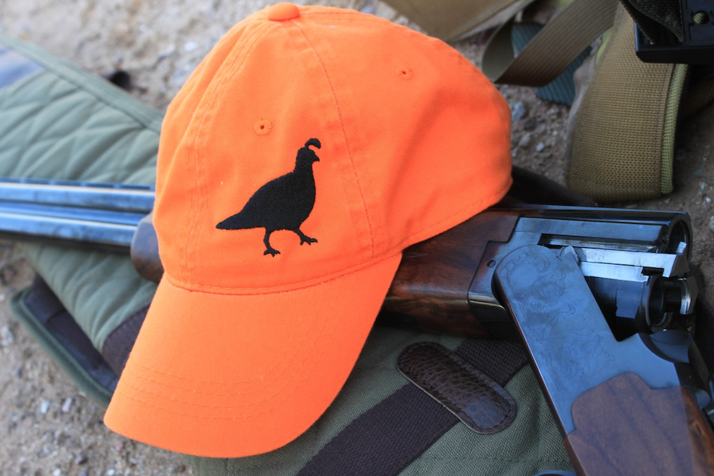 Blaze Orange Gambel's Quail Hat