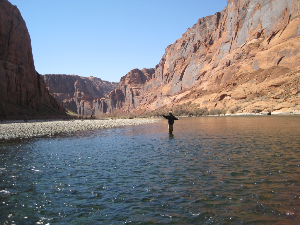 Fly Fishing Marble Canyon