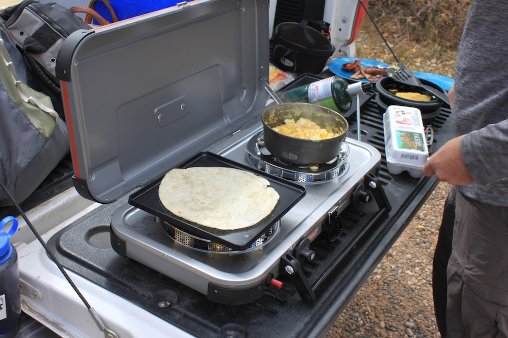 Rambling Review Coleman Fyrechampion Hyperflame Stove
