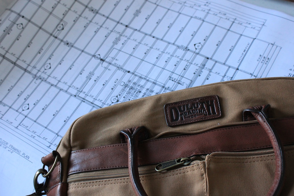 Duluth Trading Co. Fire Hose Bootstrapper Briefcase