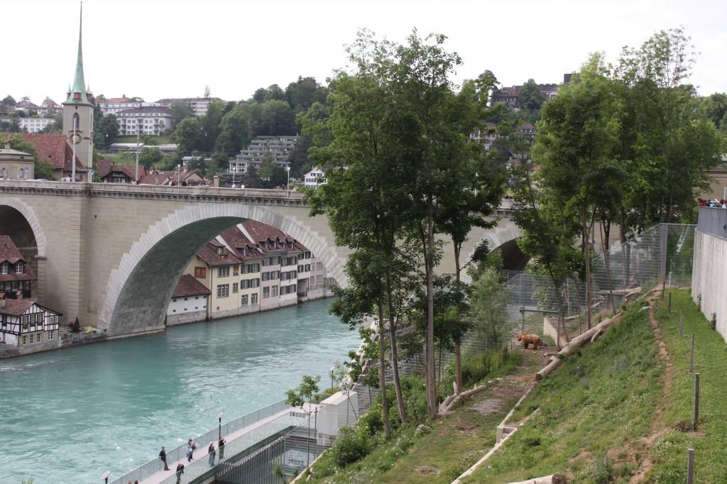 The Bear Pits in Bern Switzerland