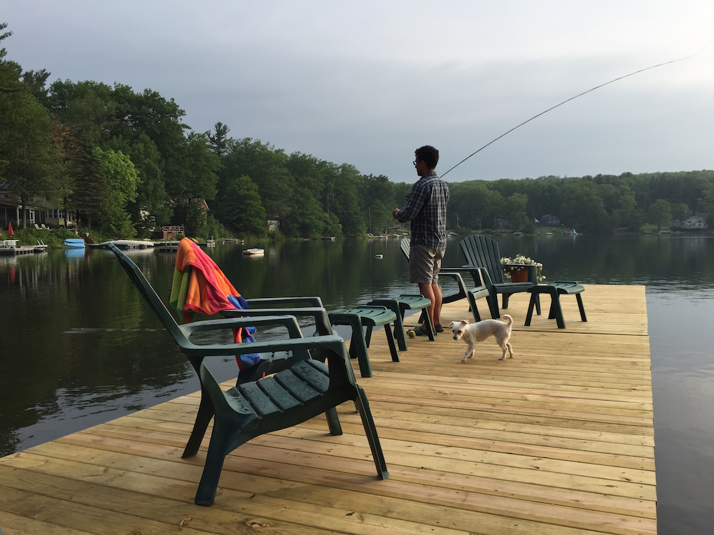 Joel Fishing