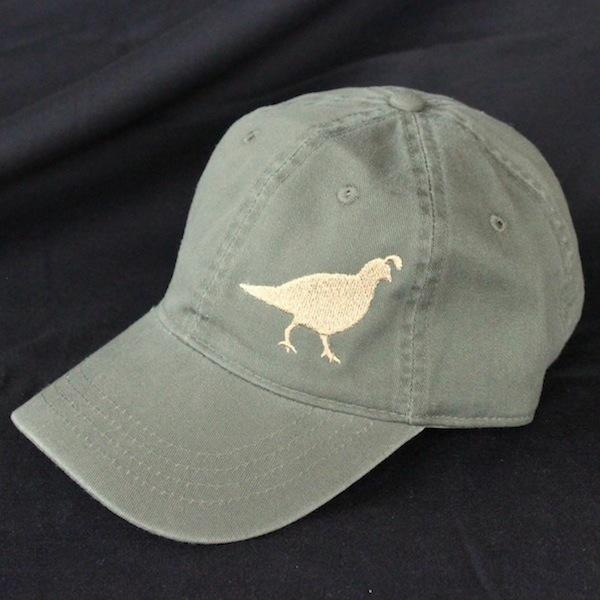 Olive Gambel's Quail Hat
