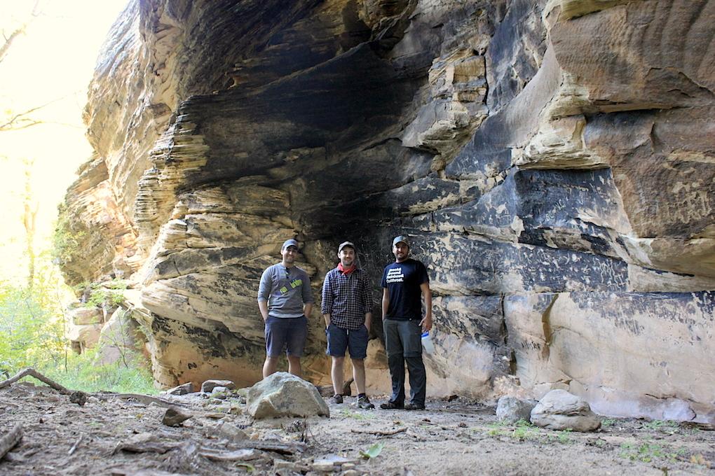 Petroglyph Overhang