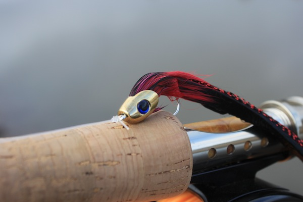 Pike Fly - Black:Red:Black