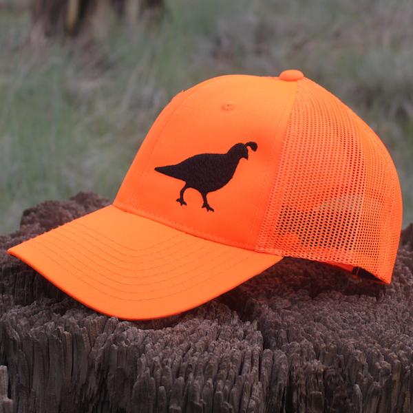 Quail Orange Mesh
