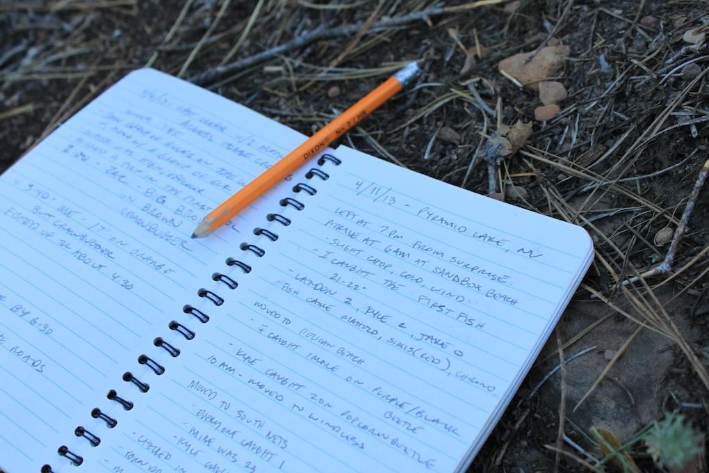 Write in the rain paper