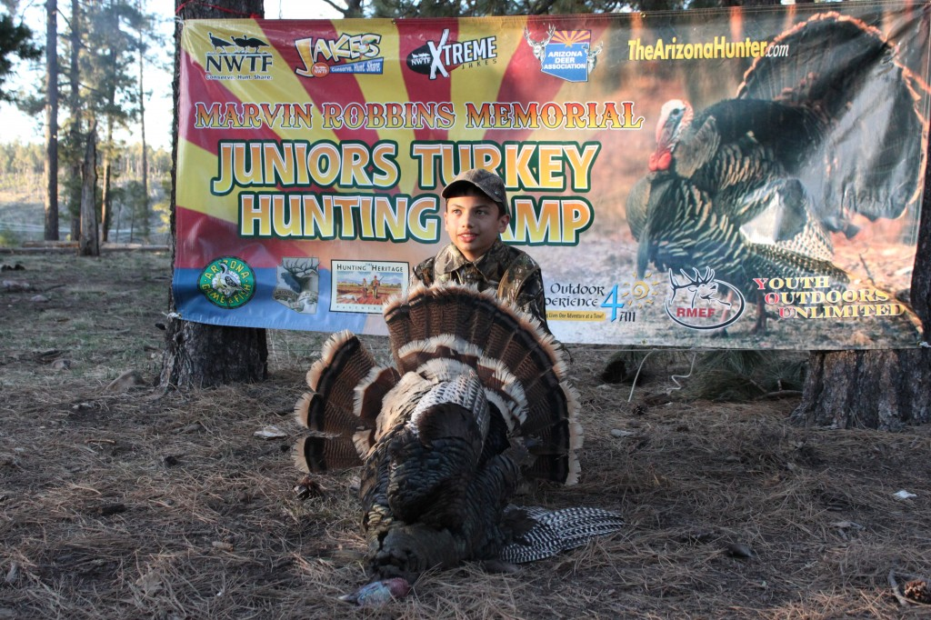Juniors Turkey Hunting Camp