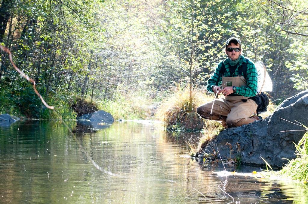 Oak Creek fly Fishing